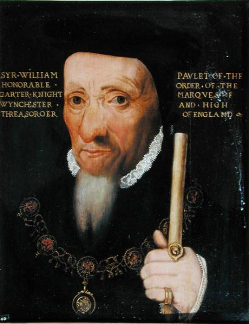 Portrait of William Paulet, 1st Marquess of Winchester (c.1483–1572) after 1551 See page for author [Public domain], via Wikimedia Commons