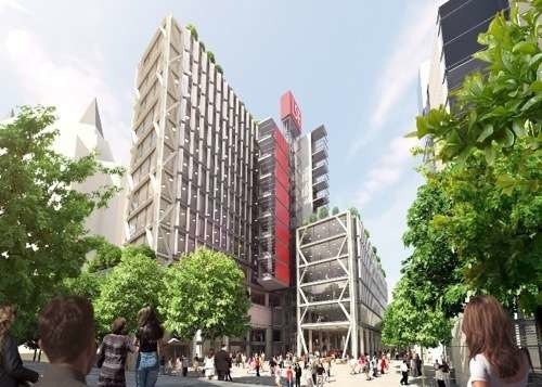 The winning design for the LSE's Global Social Sciences Centre on Houghton Street