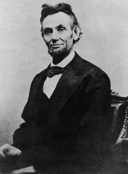 Abraham Lincoln, April 10, 1865 Alexander Gardner [Public domain], via Wikimedia Commons
