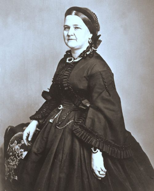 Mary Todd Lincoln in later life Library of Congress, Washington, D.C. (neg. no. LC USZ 62 15325) [Public Domain]