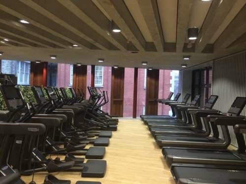 Gym at the Saw Swee Hock Student Centre