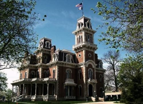 Terrace Hill, the Hubbell Mansion, Benjamin F. Allen House - different names for the Iowa Governor's Mansion