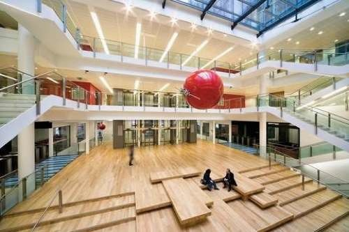 Interior of LSE's New Academic Building