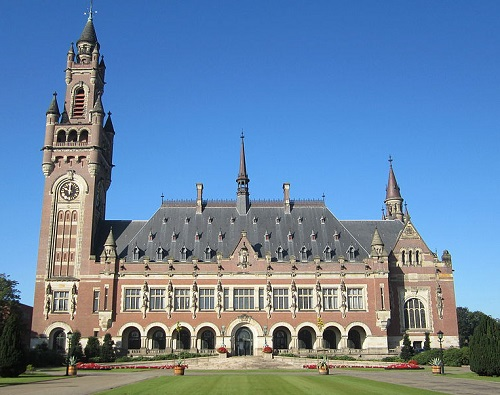 The Peace Palace in The Hague, Netherlands By Peegmehh (Own work) [CC-BY-SA-3.0-nl (http://creativecommons.org/licenses/by-sa/3.0/nl/deed.en)], via Wikimedia Commons