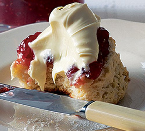 Cornish clotted cream