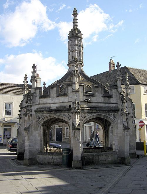 Malmesbury market cross By Arpingstone (Own work) [Public domain], via Wikimedia Commons