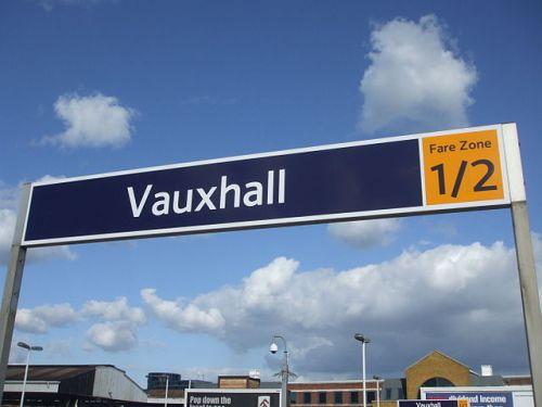 Vauxhall railway station