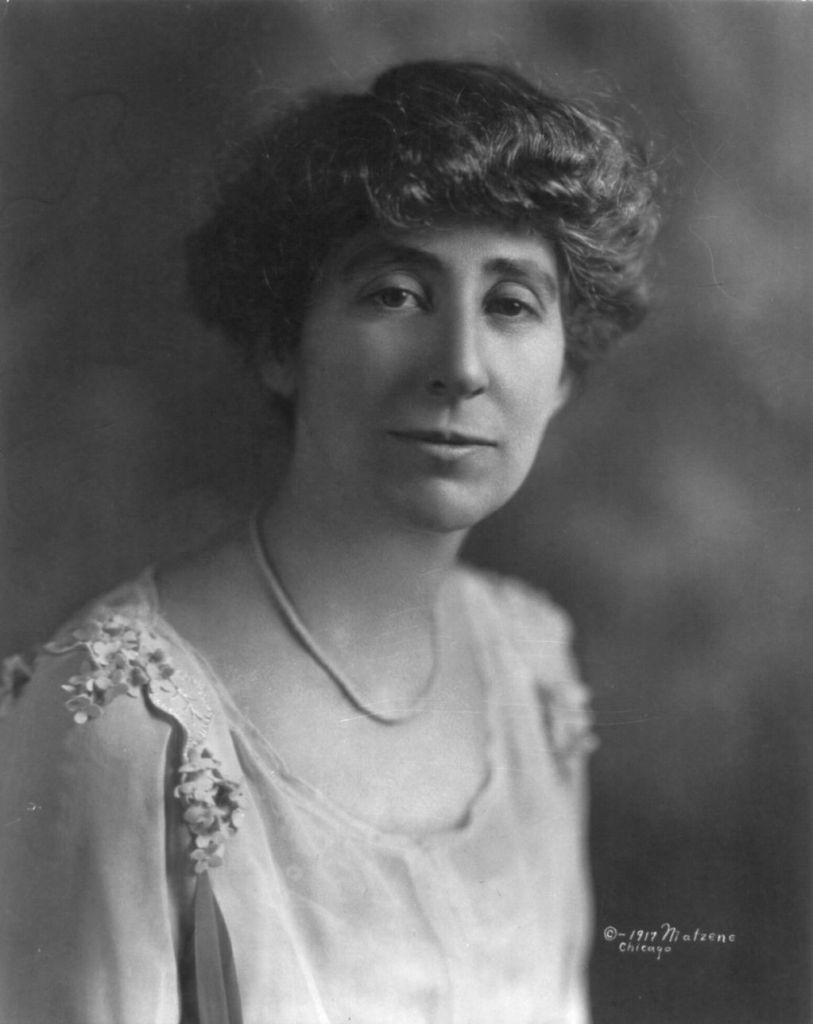 Jeannette Rankin By Matzene, Chicago [Public domain], via Wikimedia Commons