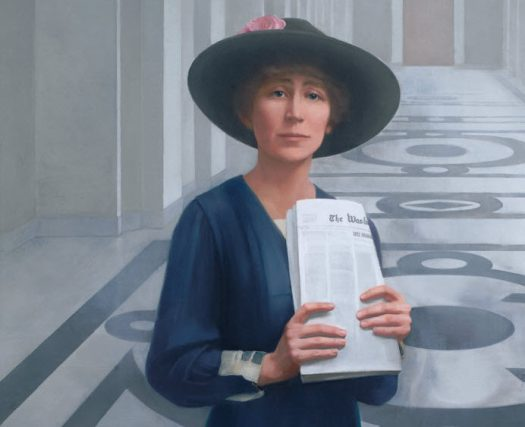 Jeannette_Rankin_portrait By Sharon Sprung (http://history.house.gov/Collection/Detail/29557) [Public domain], via Wikimedia Commons