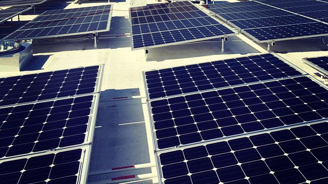 Solar panels Brea
