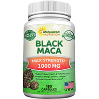 Asquared Nutrition Pure Black Maca Root