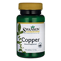 Swanson Copper Supplement