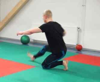kneeling exercise