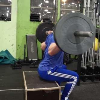 jon jones workout box squats