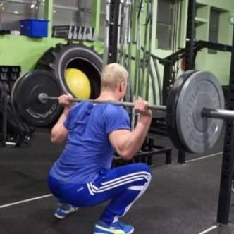 jon jones workout squat