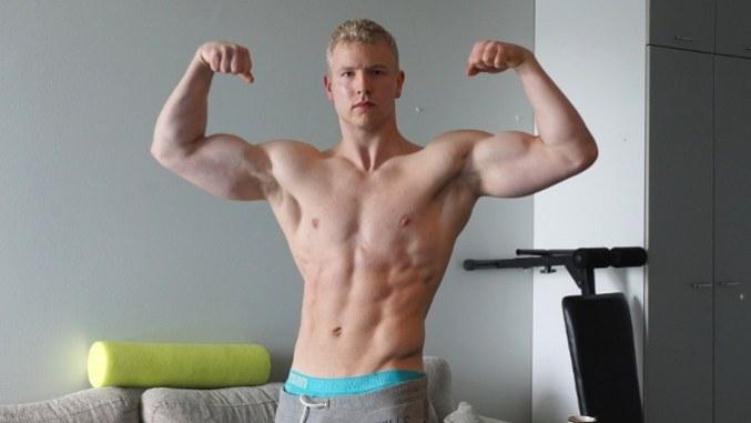 eero westerberg double biceps