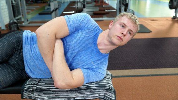 training the neck strength