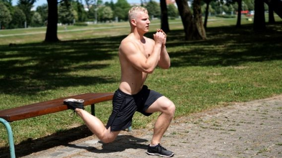 bulgarian split squat for athletic legs and athleticism