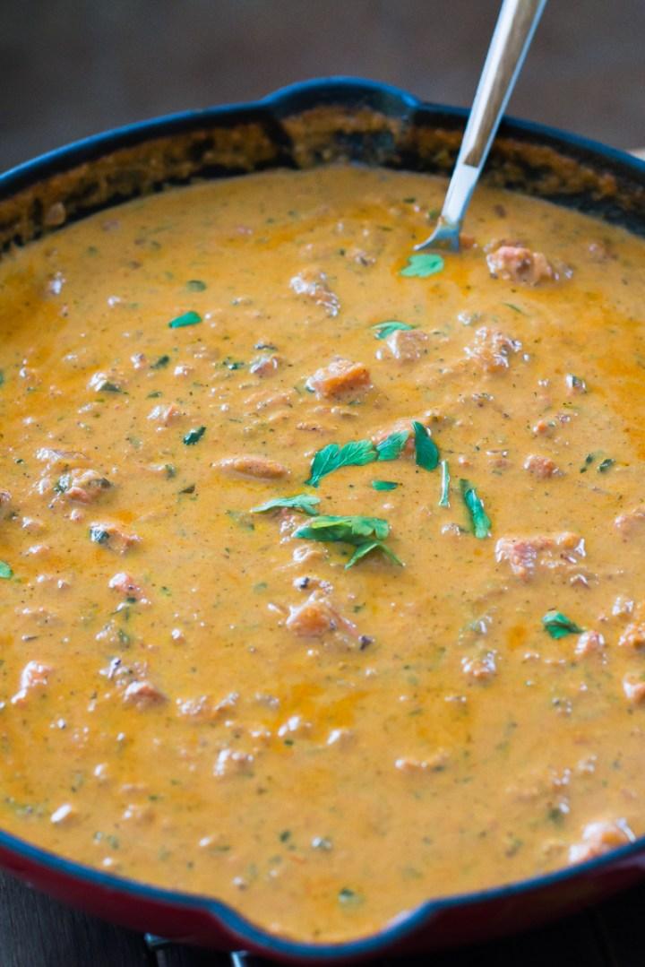Chicken Masala - Molho estilo strogonoff com temperos indianos #vaicomeroque #frango #molho #receita (1 of 1)-8