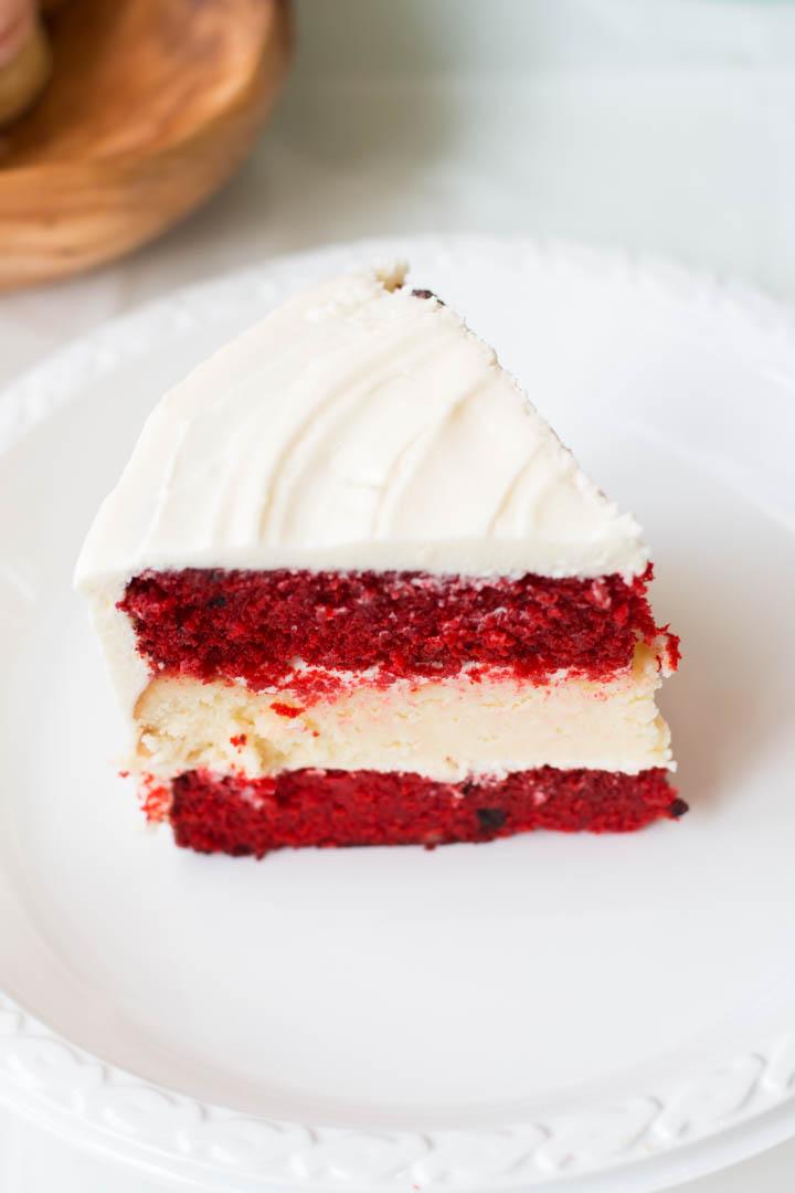 Bolo Cheesecake Red Velvet