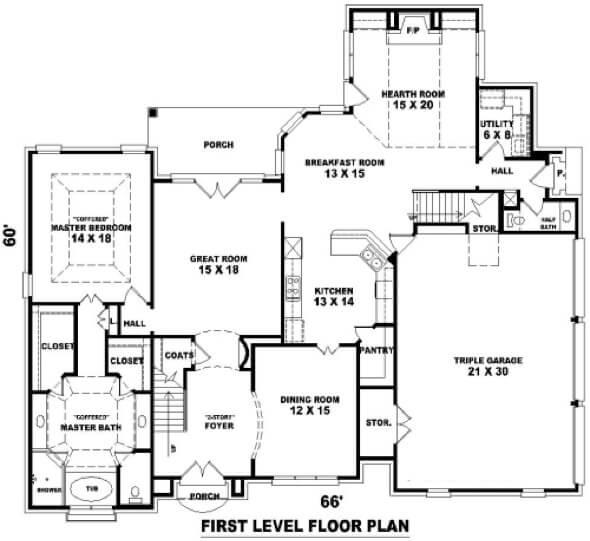 Plantas de casas com piscina: 32 modelos para construção
