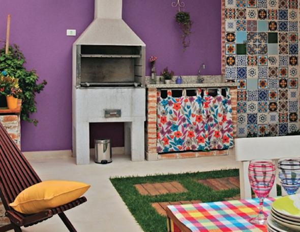 Mosaico de azulejo como uslo em sua casa Tipos e 12