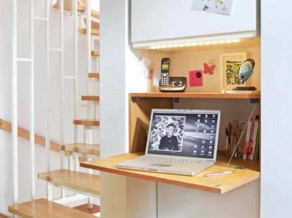 Modelo de armrio e mesa dobrvel  Mais espao para seu lar