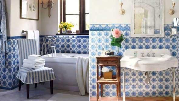 Azulejo portugus na decorao
