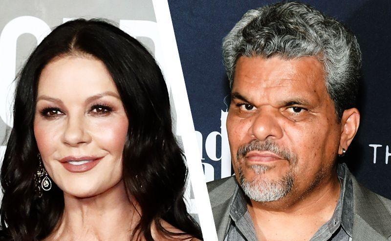 Catherine Zeta-Jones y Luis Guzmán serán padres en familia Addams