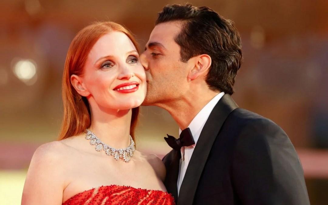 Jessica Chastain y Óscar Isaac protagonizan el momento más sexy del festival de Venecia