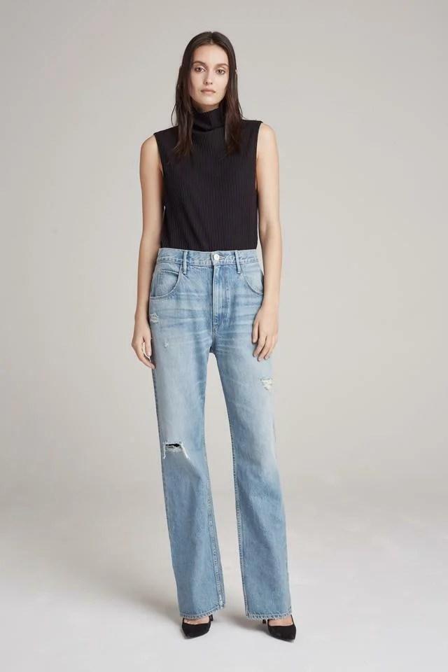 Tipos de Jeans: rectos