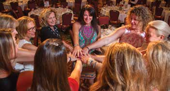 4. The Vail Breast Cancer Awareness Group's Board of Directors showing camaraderie for the cause.