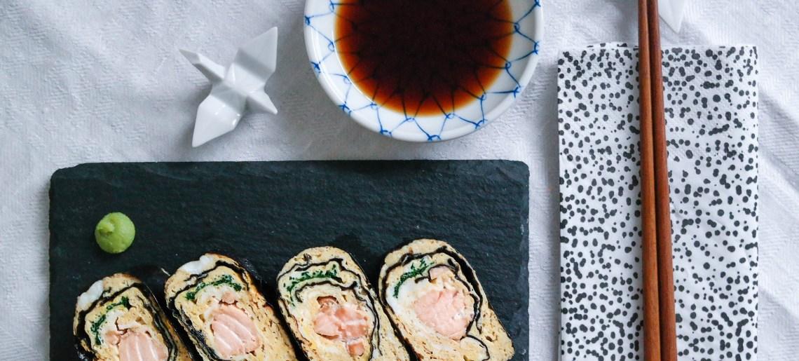 Tamagoyaki / dashimaki tamago (aka munakasrulla lohella)