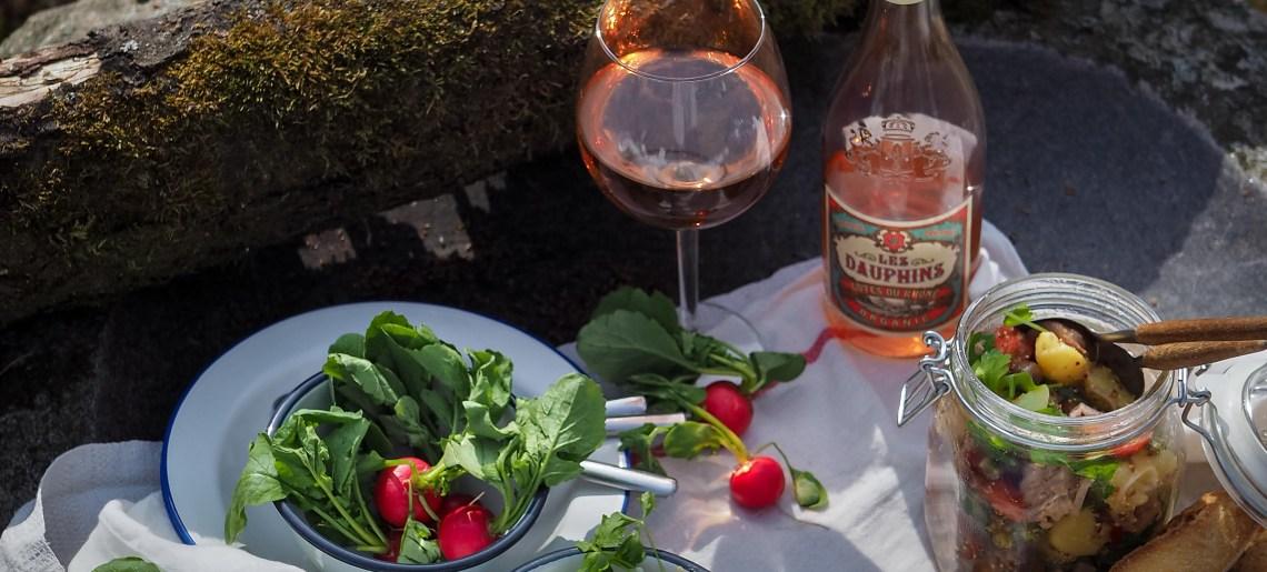 Nizzansalaatti, kevään eka piknik ja muistojeni Pariisi