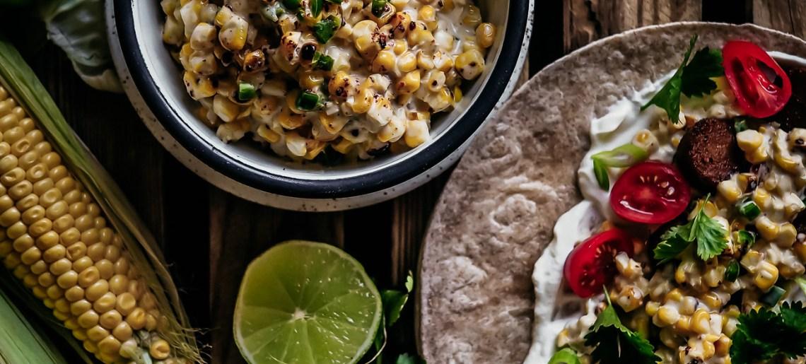 Meksikolainen maissisalaatti aka esquites