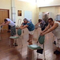 Chair Yoga For Seniors Upholstered Counter Height Chairs With Arms Vai In Bassendean Picture