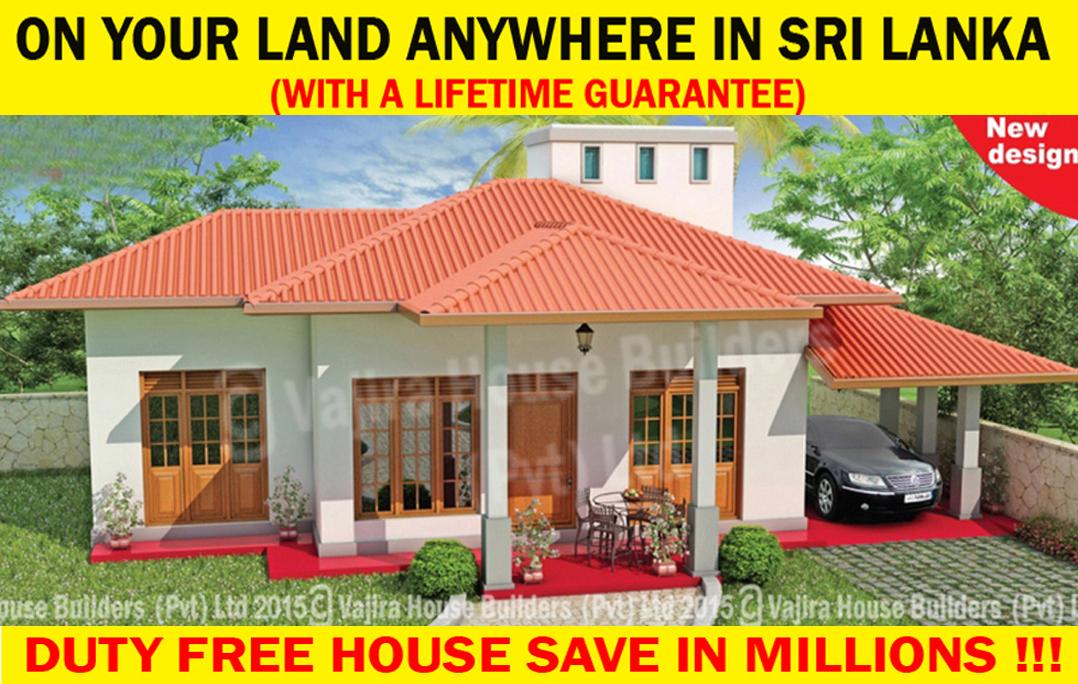 Free House Plans Sri Lanka