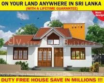 Normal House Plan Sri Lanka