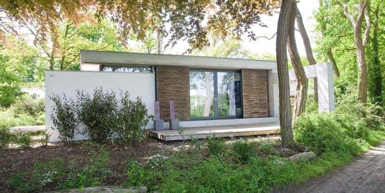 Betonnen boshuis landgoed Bergvliet design vakantiehuis12