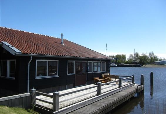 Vakantiehuis Het Boothuis aan het Lauwersmeer