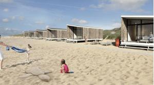 Strandhuisjes Kijkduin Roompot