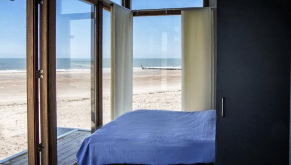Strandhuisje Hoogduin Cadzand Zeeland