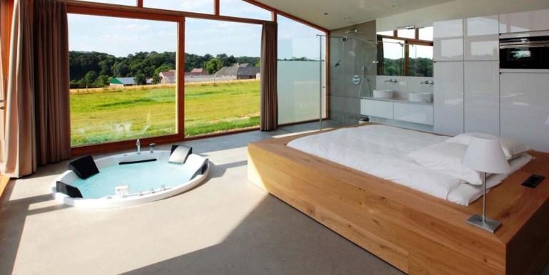 Natuurloft® Water met hottub en jacuzzi Landgoed St. Geertruid Limburg 3