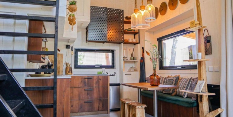 Tiny House 4 personen vakantie droompark De Zanding Veluwe vakantiehuis 3