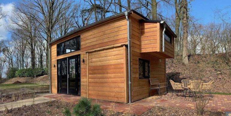 Tiny House 4 personen vakantie droompark Maasduinen Limburg 14