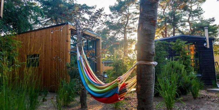 Tiny House 4 personen vakantie droompark Maasduinen Limburg 2