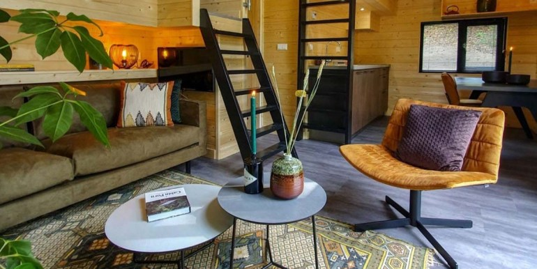 Tiny House 4 personen vakantie droompark Maasduinen Limburg 4