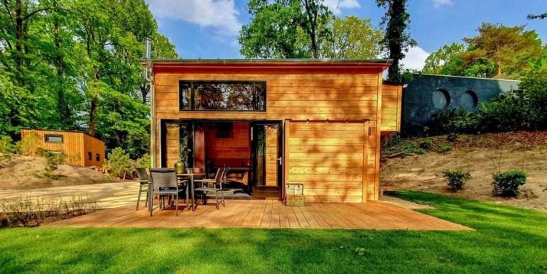 Tiny House 4 personen vakantie droompark Maasduinen Limburg 5