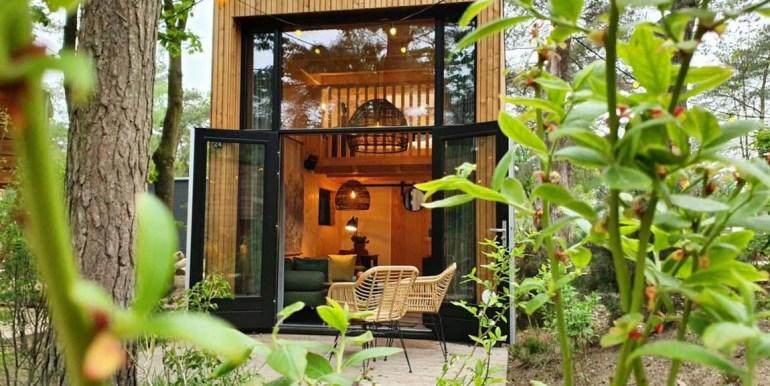 Vakantie in een Tiny House Droompark Buitenhuizen Amsterdam Noord Holland 2