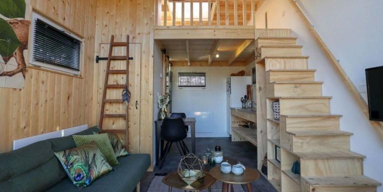 Vakantie in een Tiny House Droompark Buitenhuizen Amsterdam Noord Holland 3